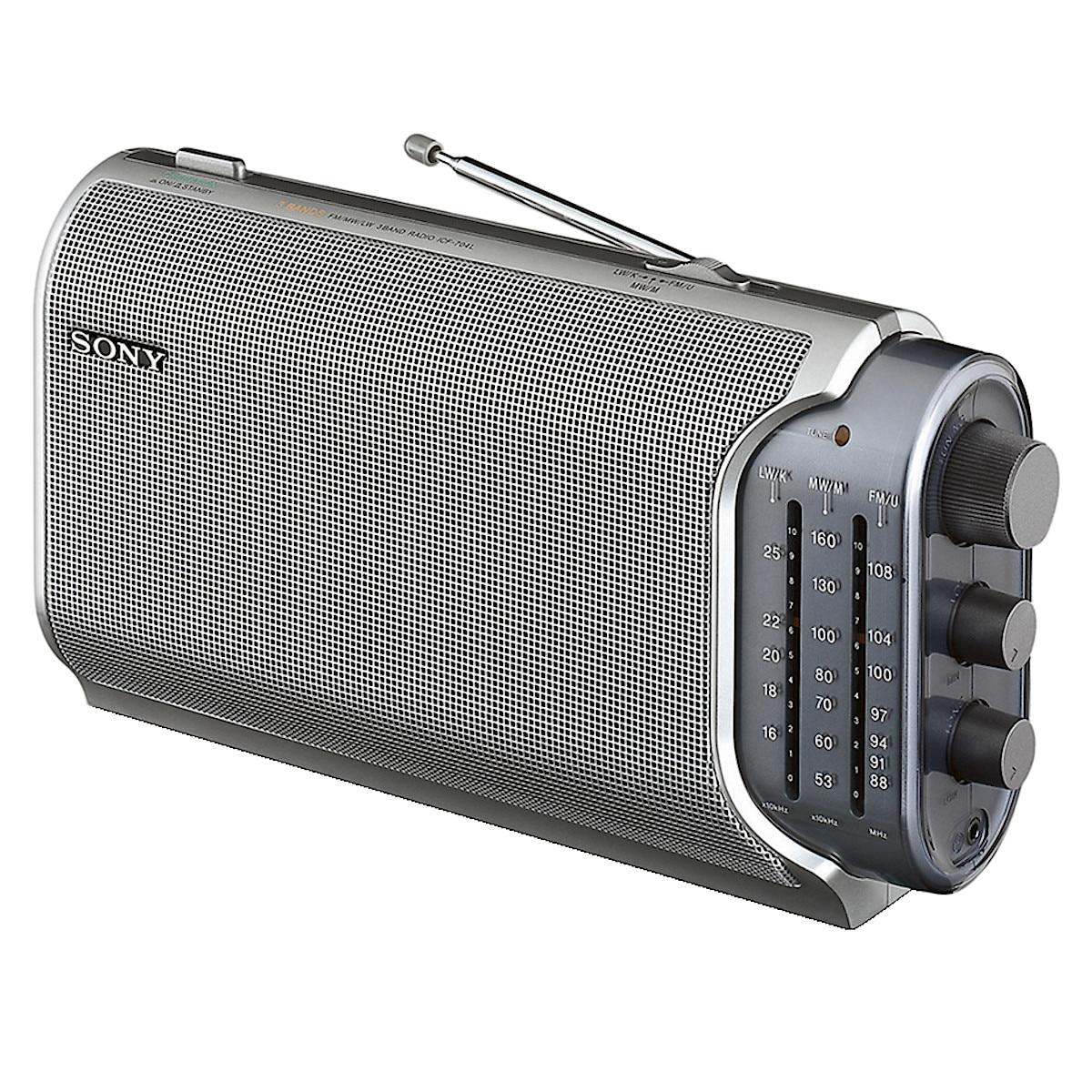 AM/FM-radio, Sony