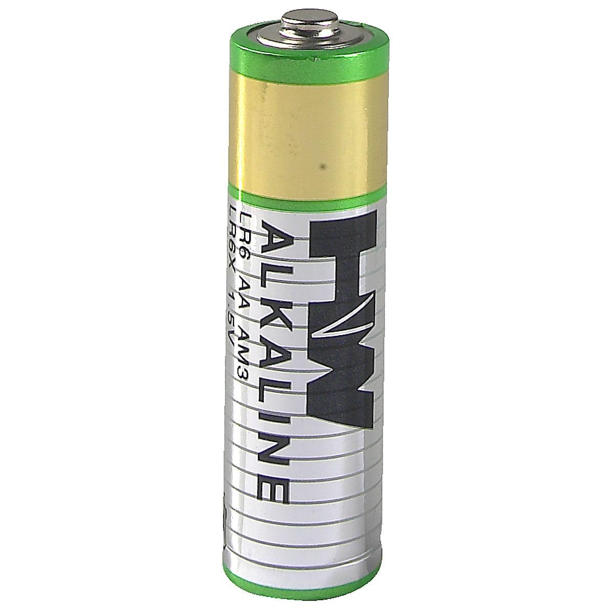 Alkaliskt batteriset