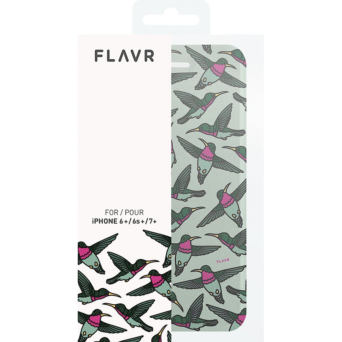 Plånboksfodral för iPhone 6 Plus/6S Plus/7 Plus, FLAVR