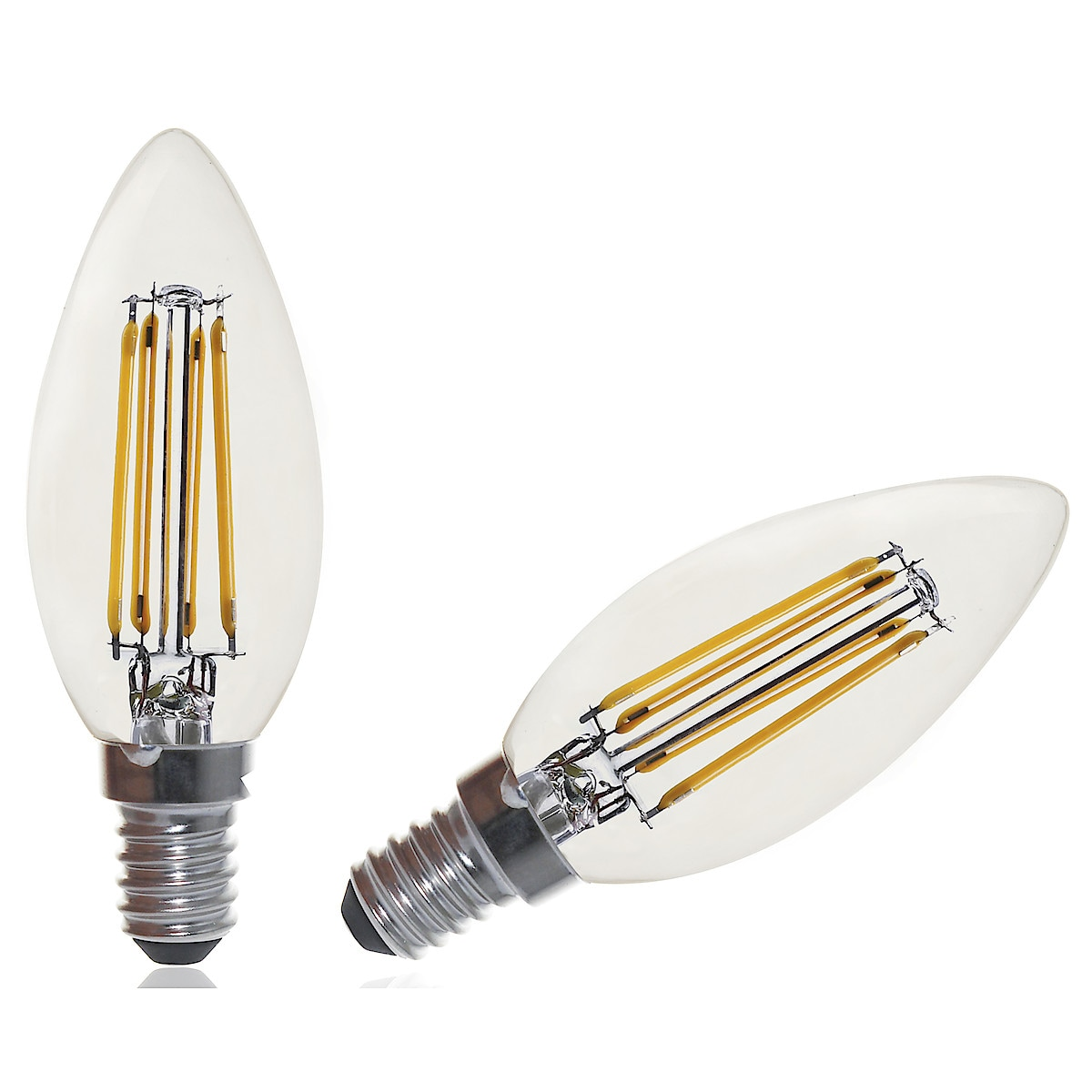 Himmennettävä kynttilälamppu LED E14 Clas Ohlson