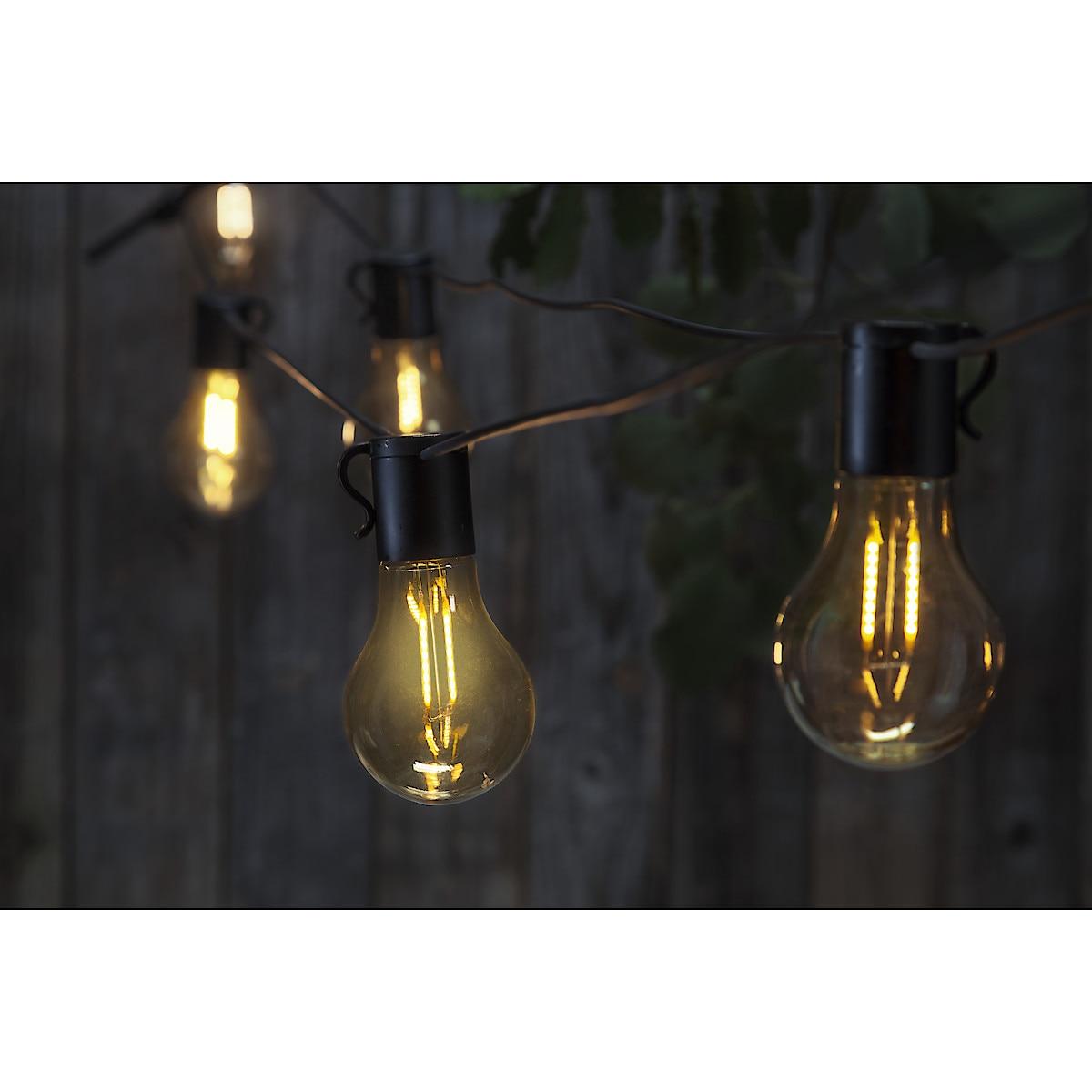 Ljusslinga med solcell, Northlight