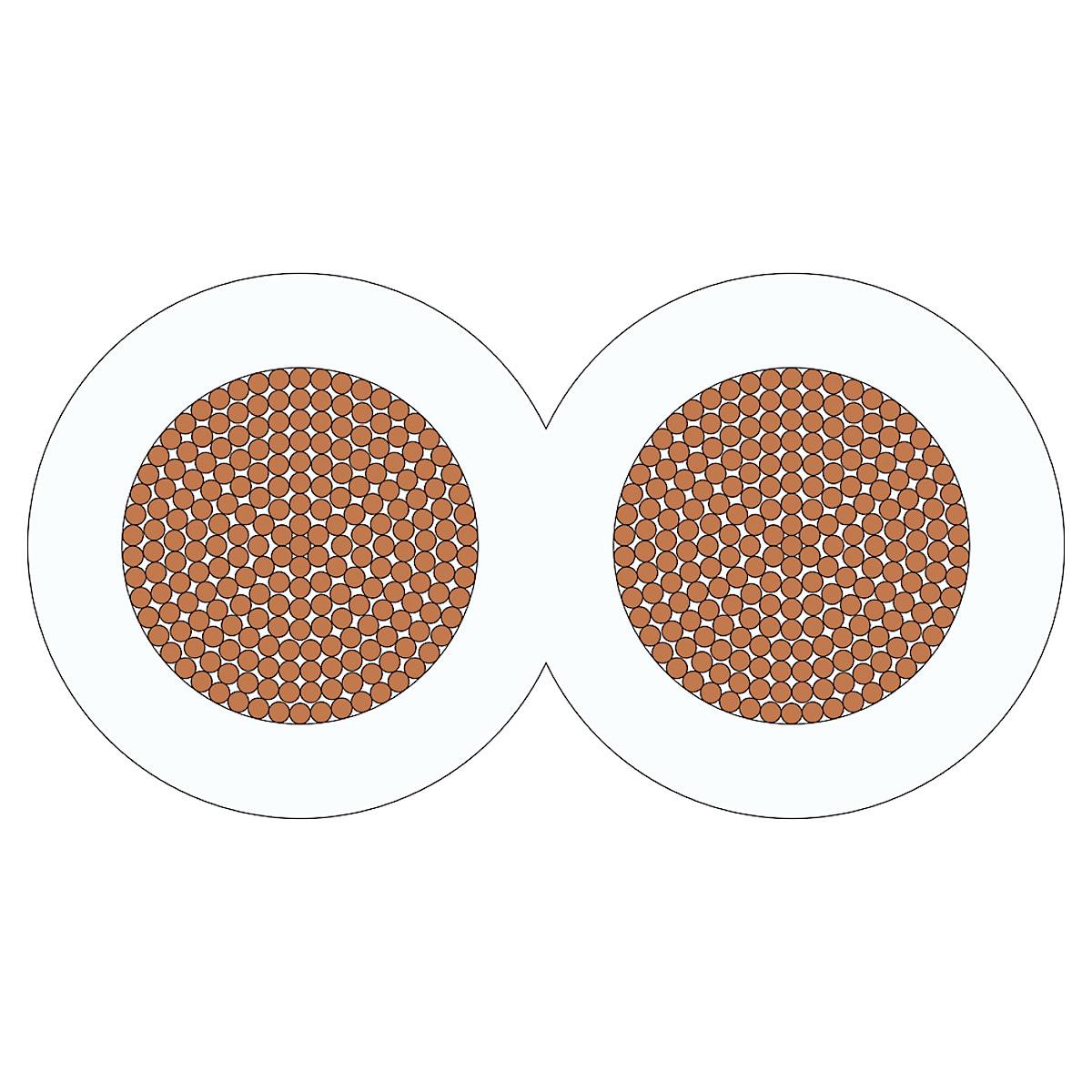 Kaiutinkaapeli RKUB 2x2,5 mm²
