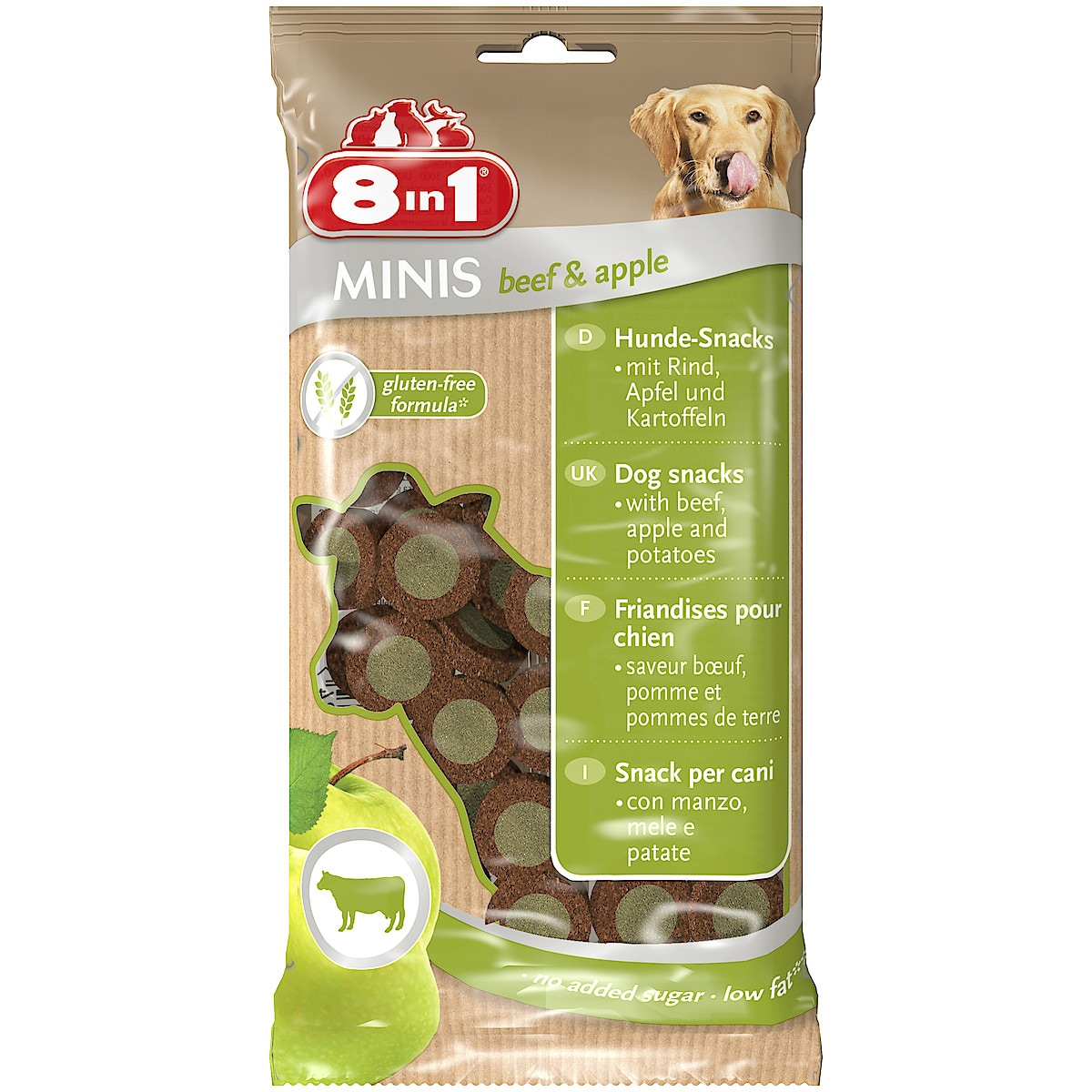 Leckerlis für Hunde 8in1