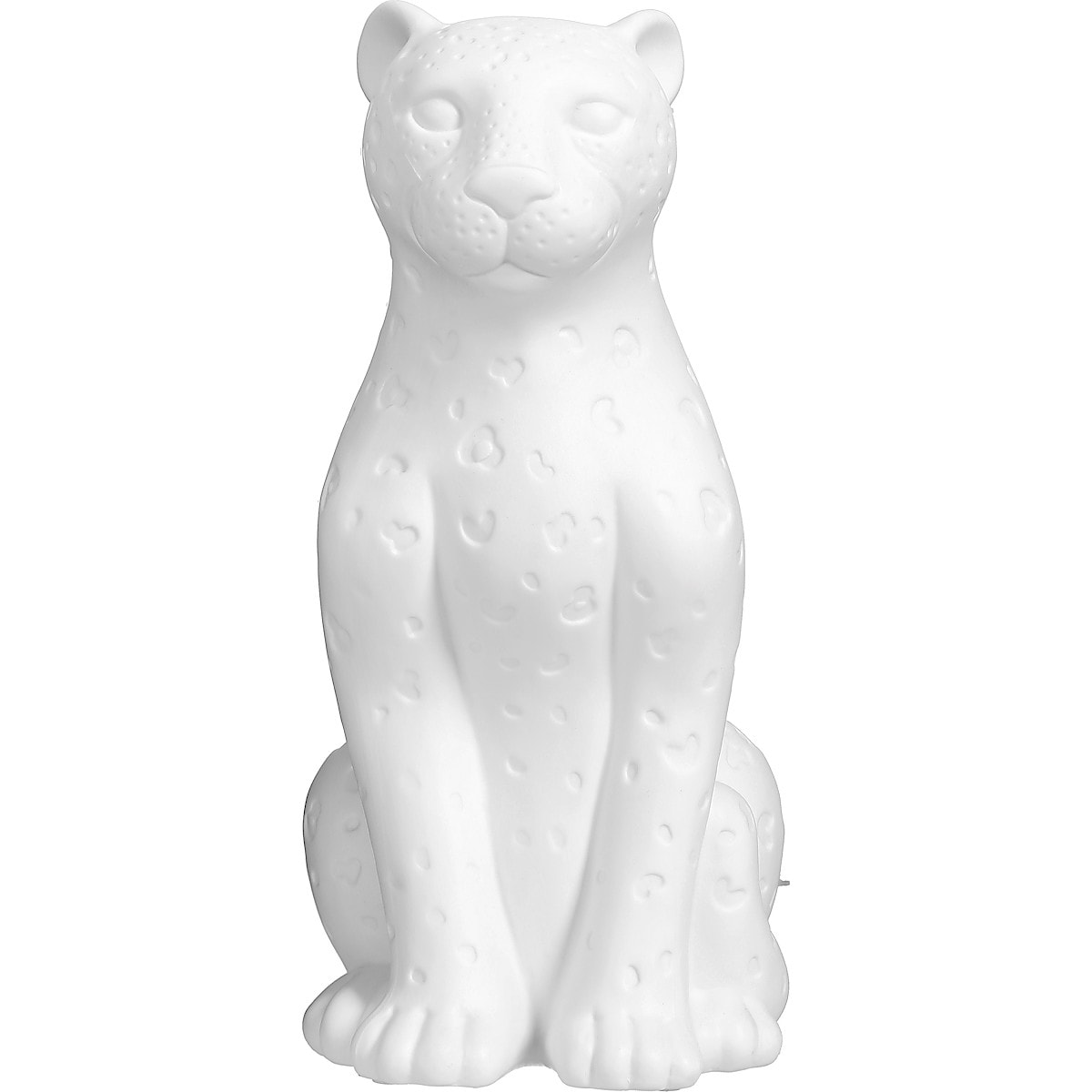 Bordslampa Leopard i porslin, Northlight | Clas Ohlson
