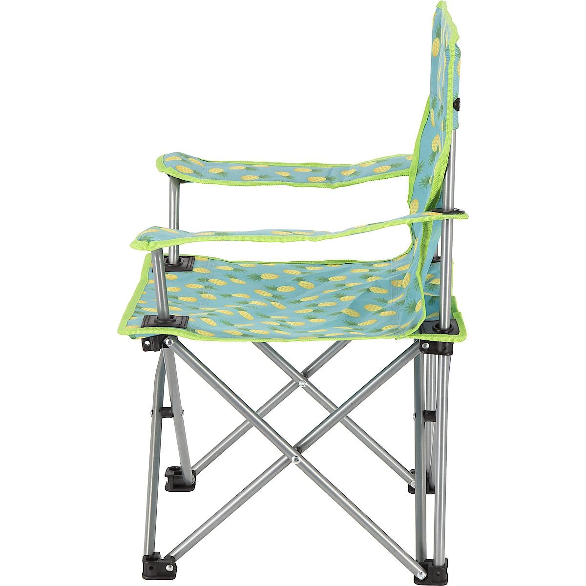 Hopfällbar stol för barn, ananas | Clas Ohlson