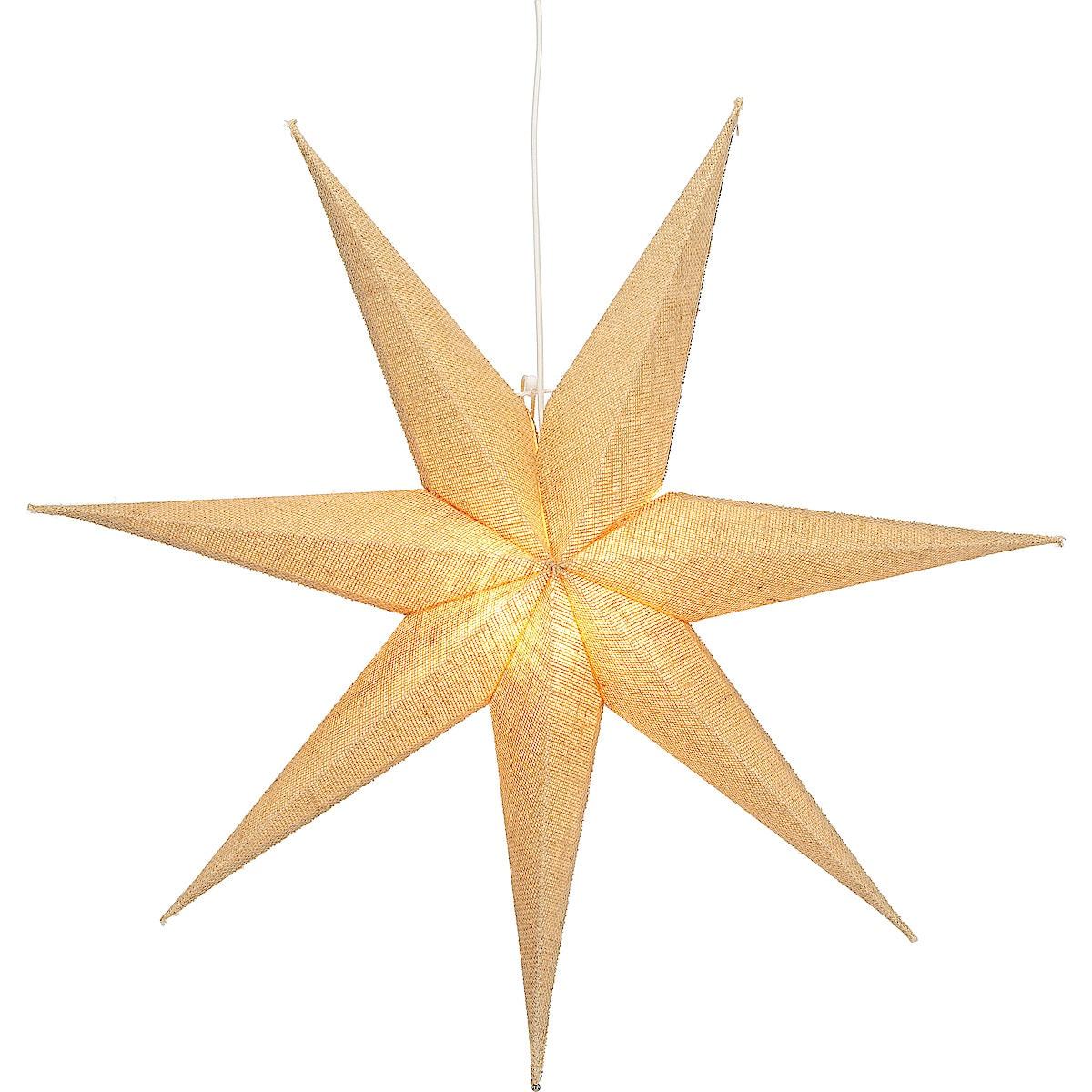 Adventsstjärna jute 70 cm, Northlight