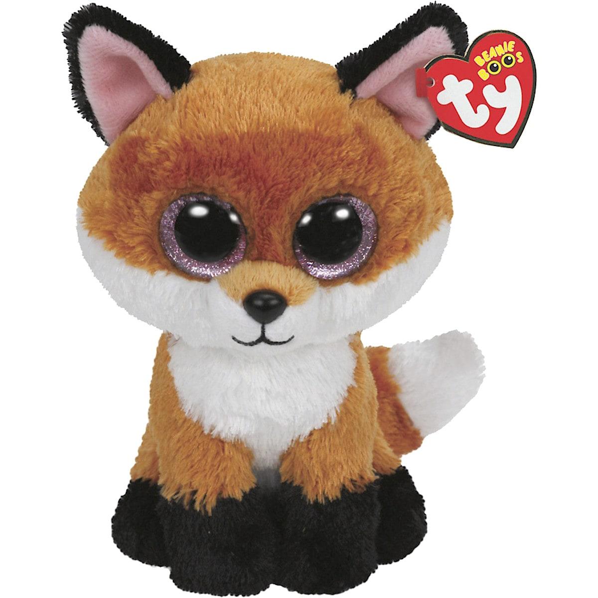 Ty Beanie Boo Slick the Fox Soft Toy