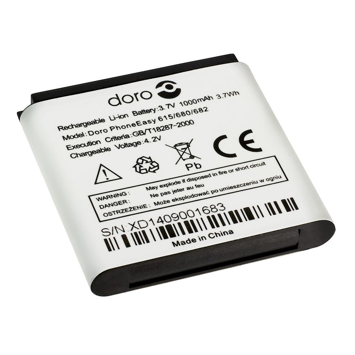 Batteri Doro 614/615/680/682