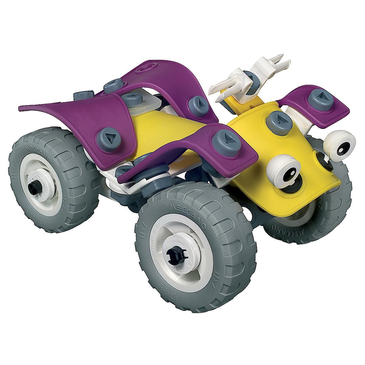 Fyrhjuling build & play Meccano