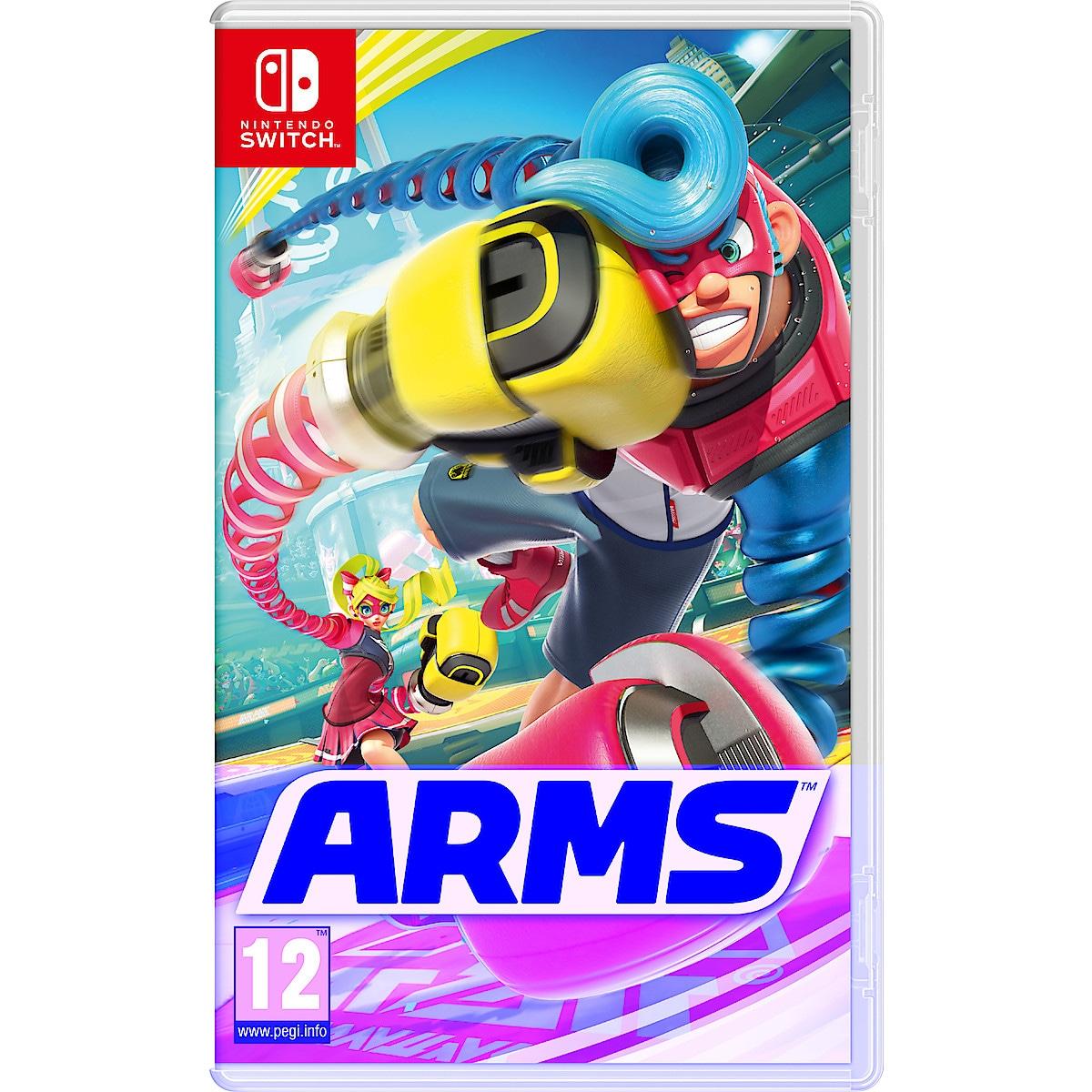 Arms spel till Nintendo Switch