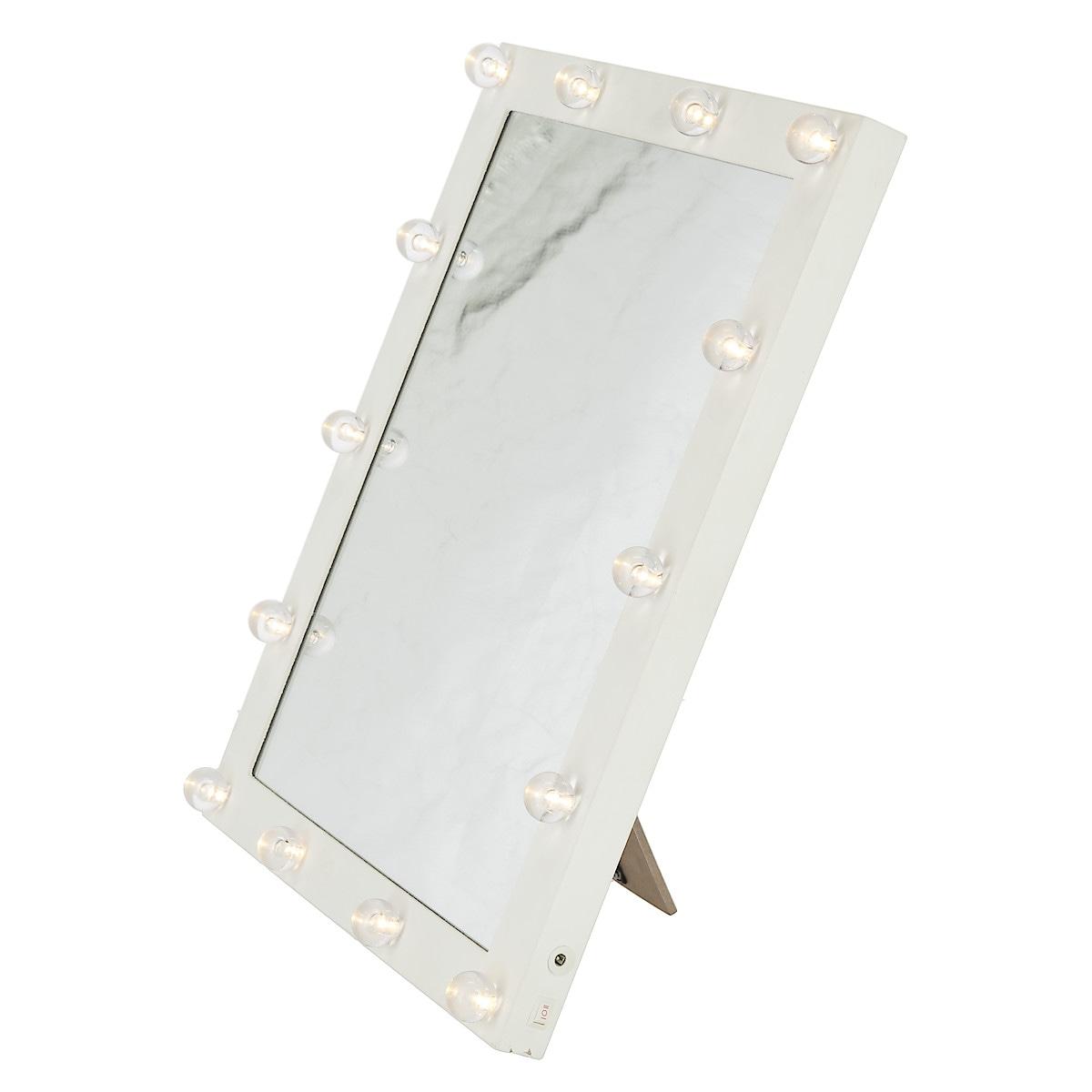Peili, jossa LED-valot, Northlight
