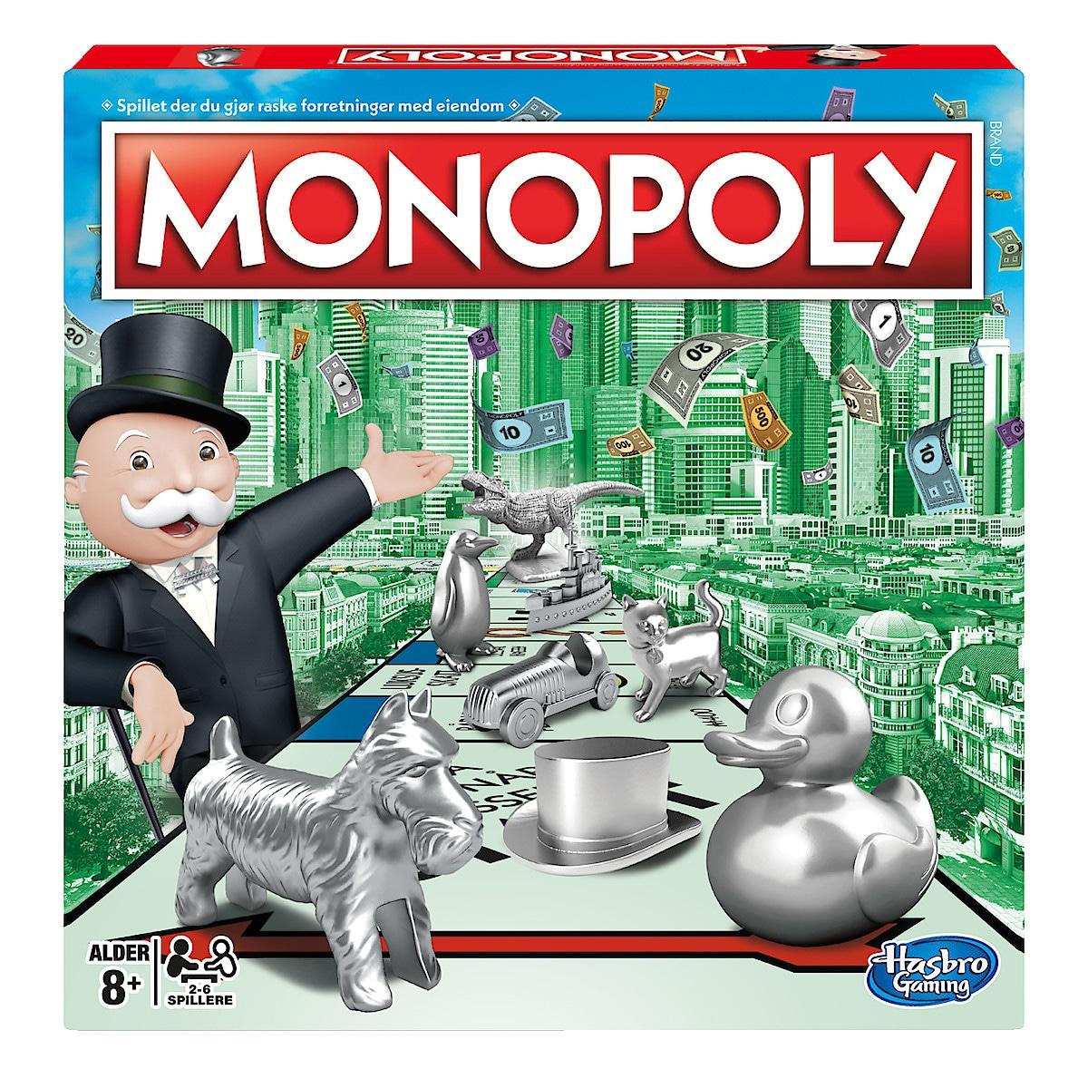 Monopol, brettspill fra Hasbro