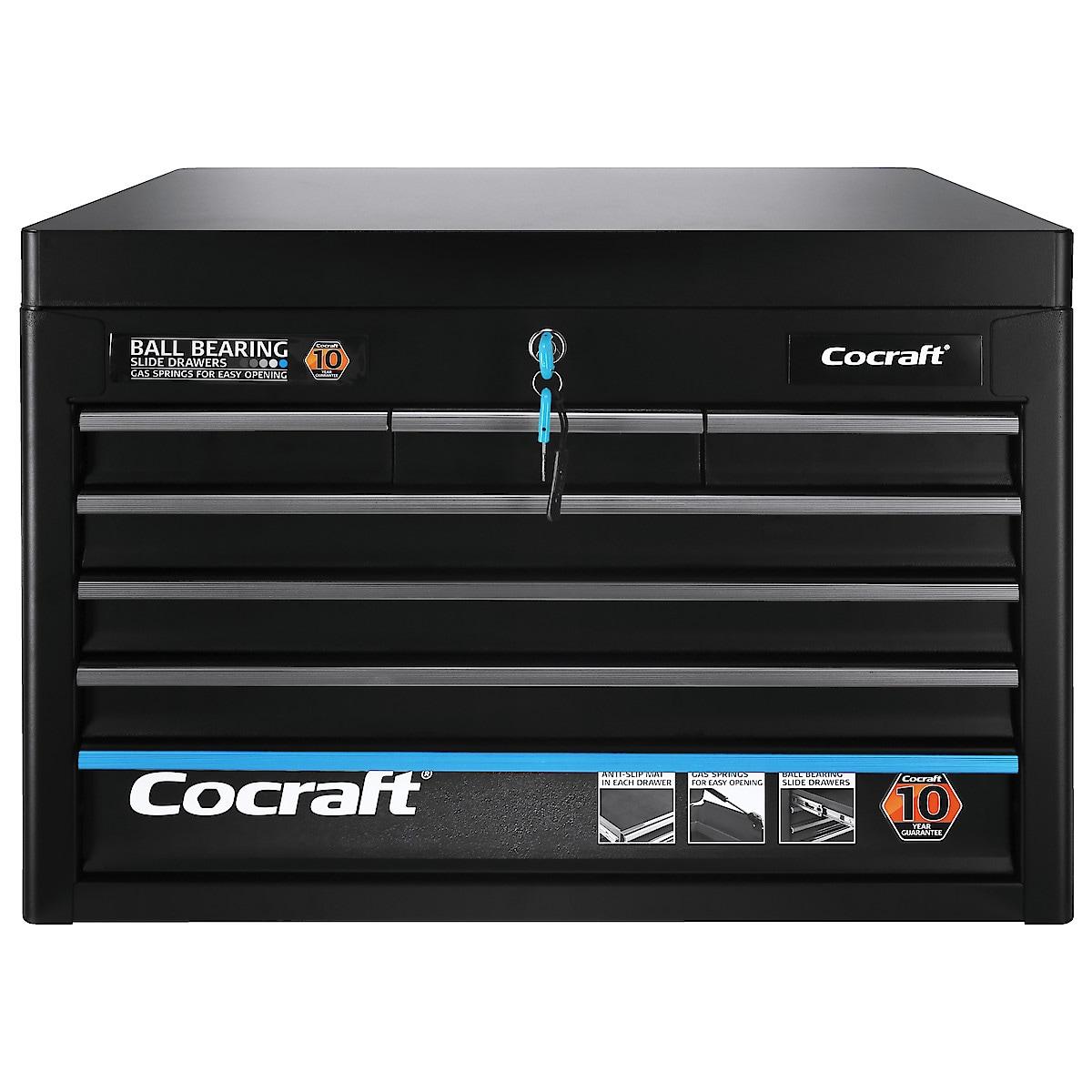 Työkaluvaunun ylälaatikko Cocraft