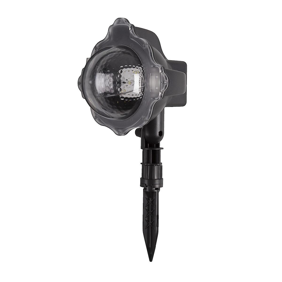 LED-projektori lumisade