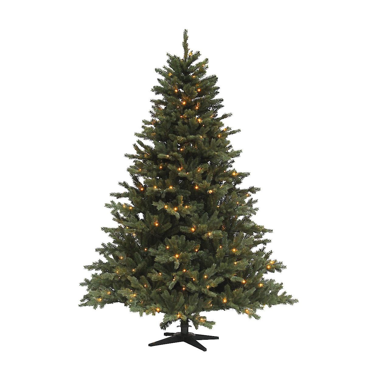 Valaistu joulukuusi