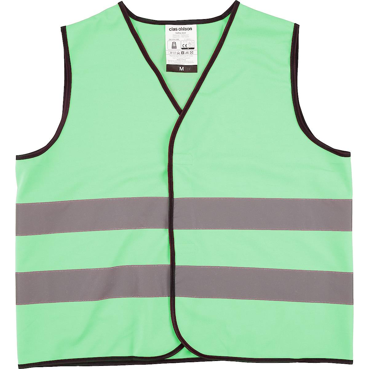 Heijastinliivi vihreä, Clas Ohlson
