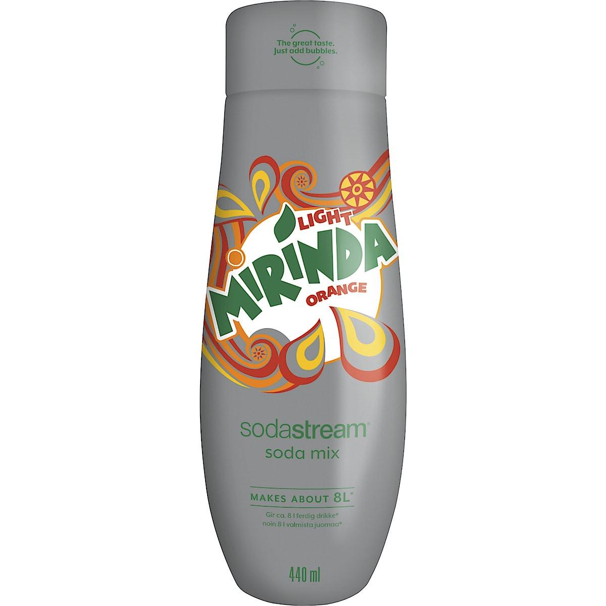 SodaStream Pepsi Mirinda Light Makutiiviste 440 ml