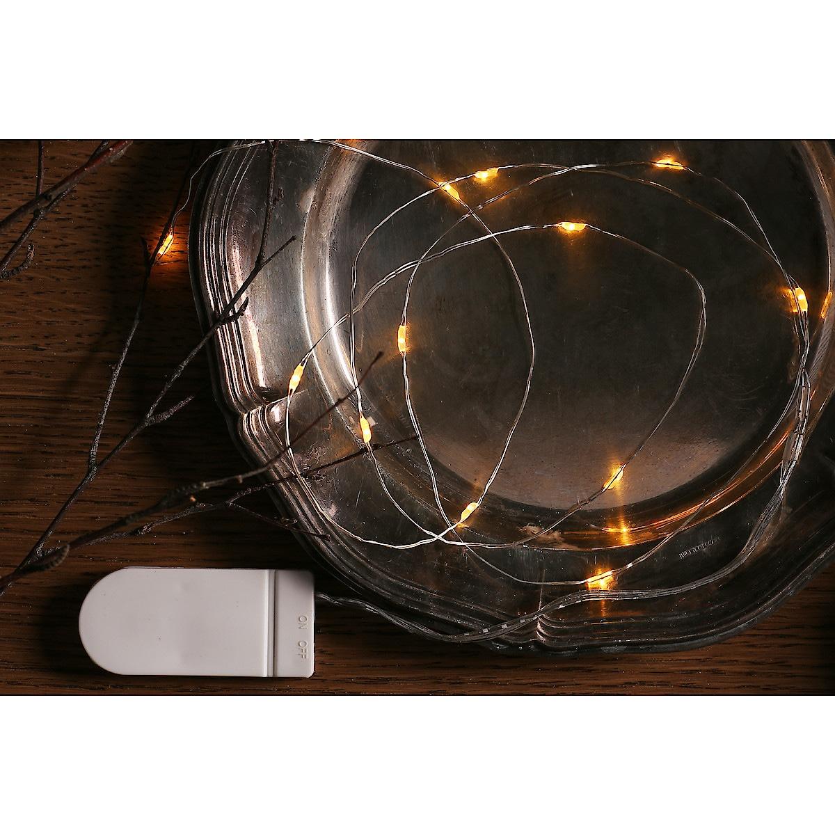 Batteridriven ljusslinga 11 m