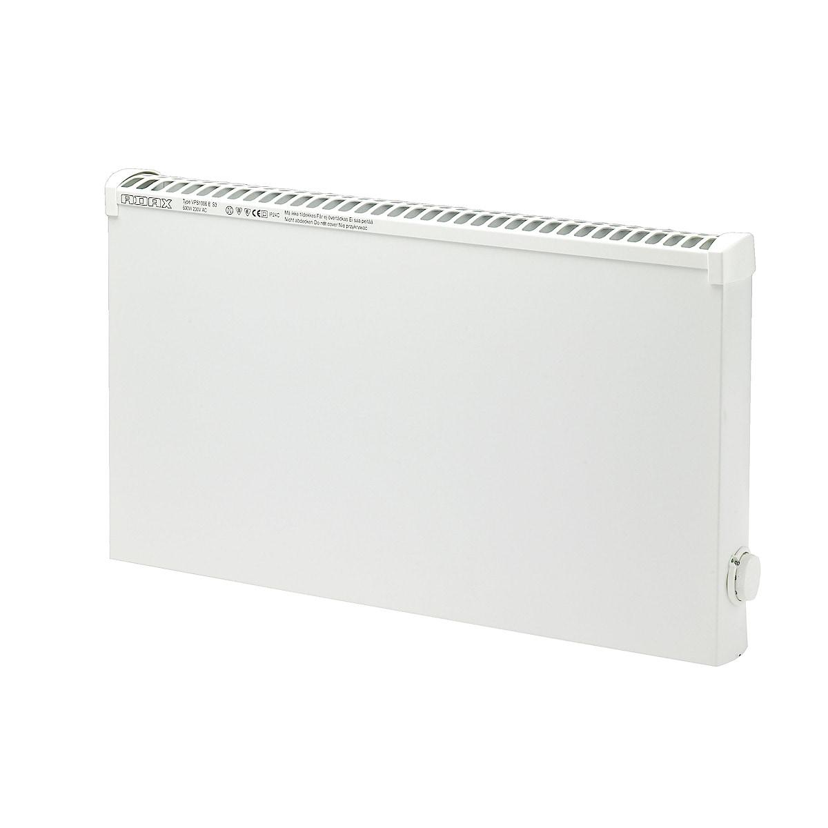 Lämpöpatteri märkätiloihin 600 W 400 V Adax VPS1006ET