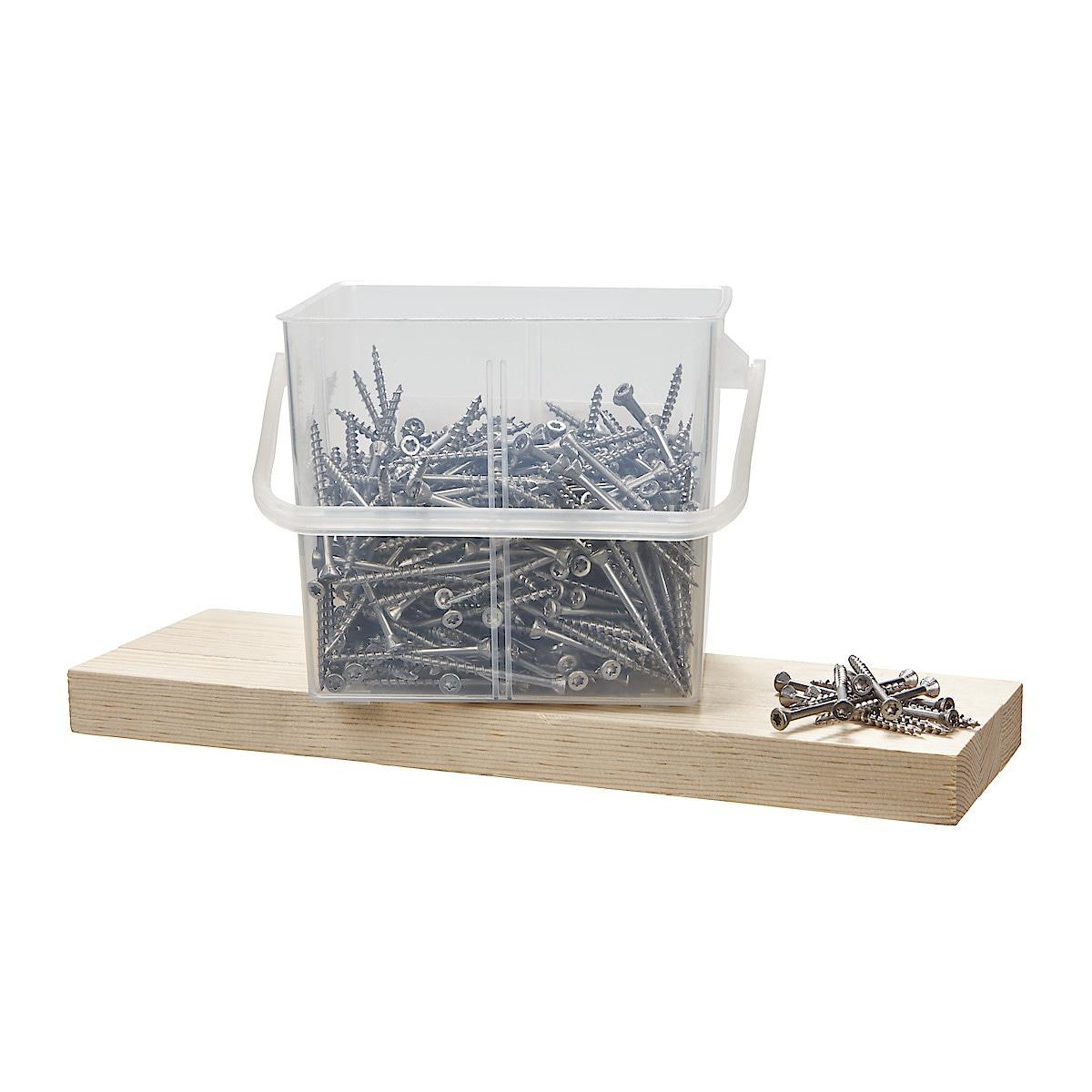 Trallskruv rostfri A2 42 x 55 mm