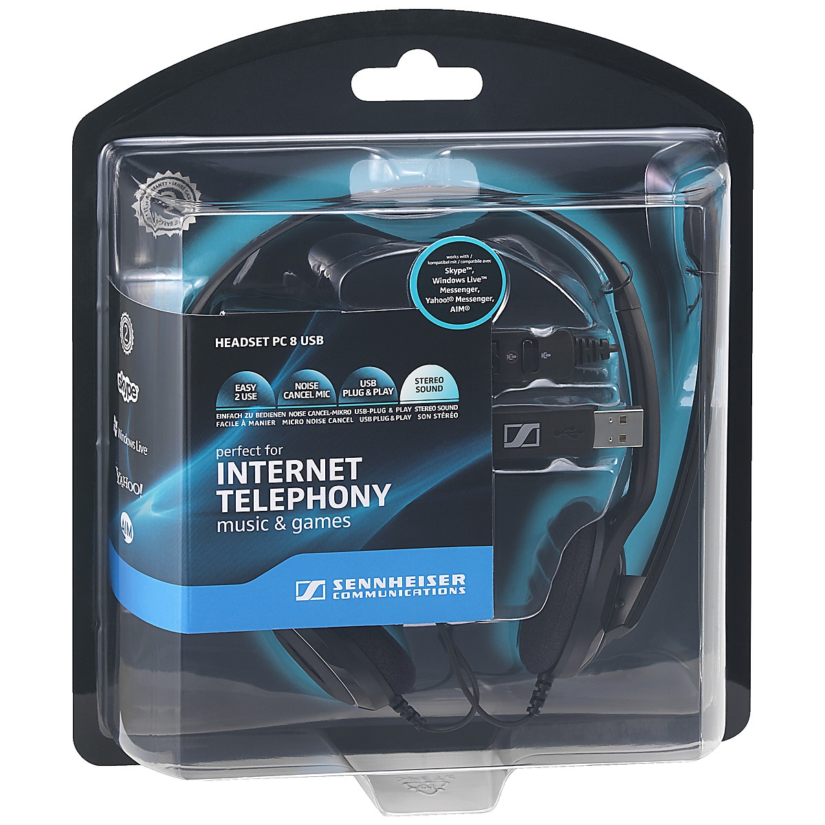 Headset Sennheiser PC-8 USB