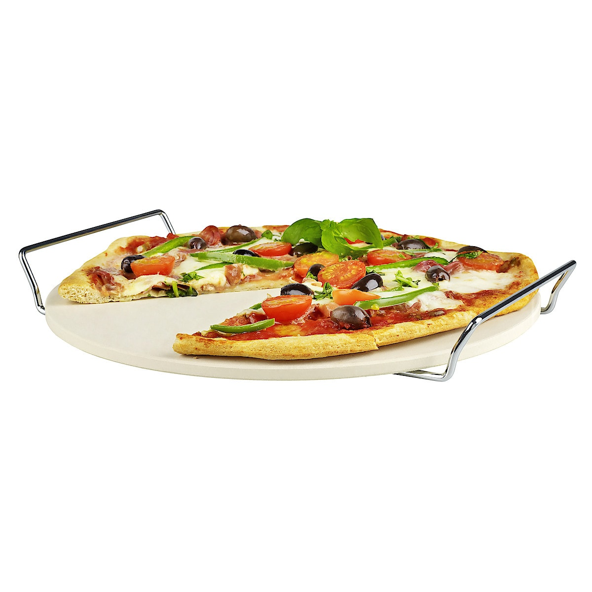 Pizzastein sett