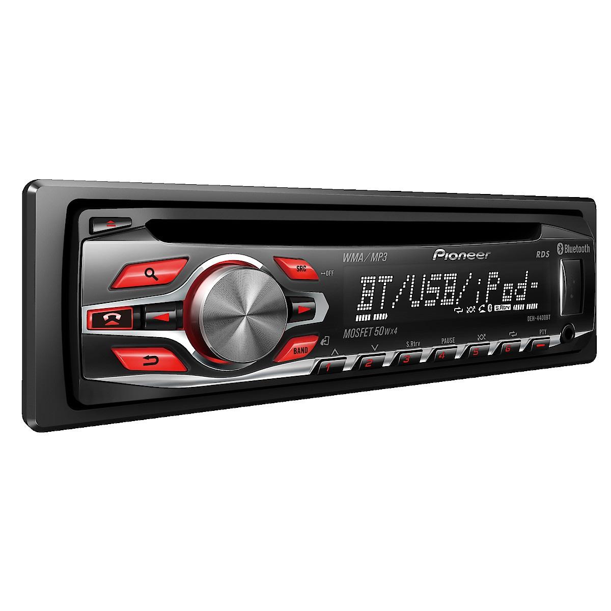 Bilstereo med Bluetooth, Pioneer DEH-4400 BT