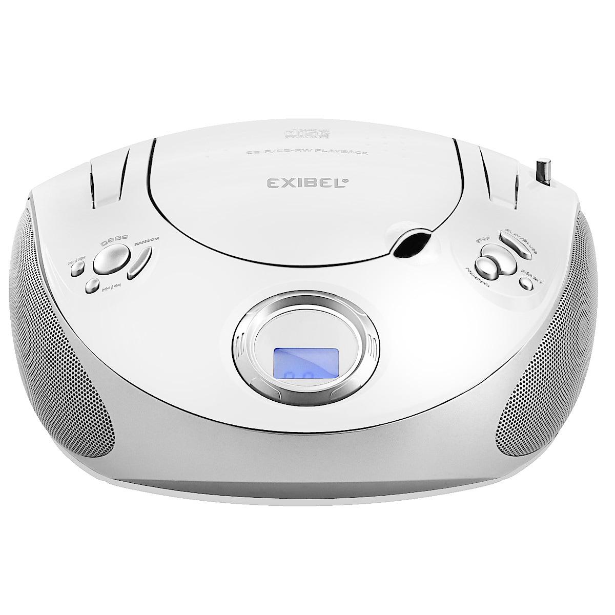 CD-spelare med FM-radio Exibel