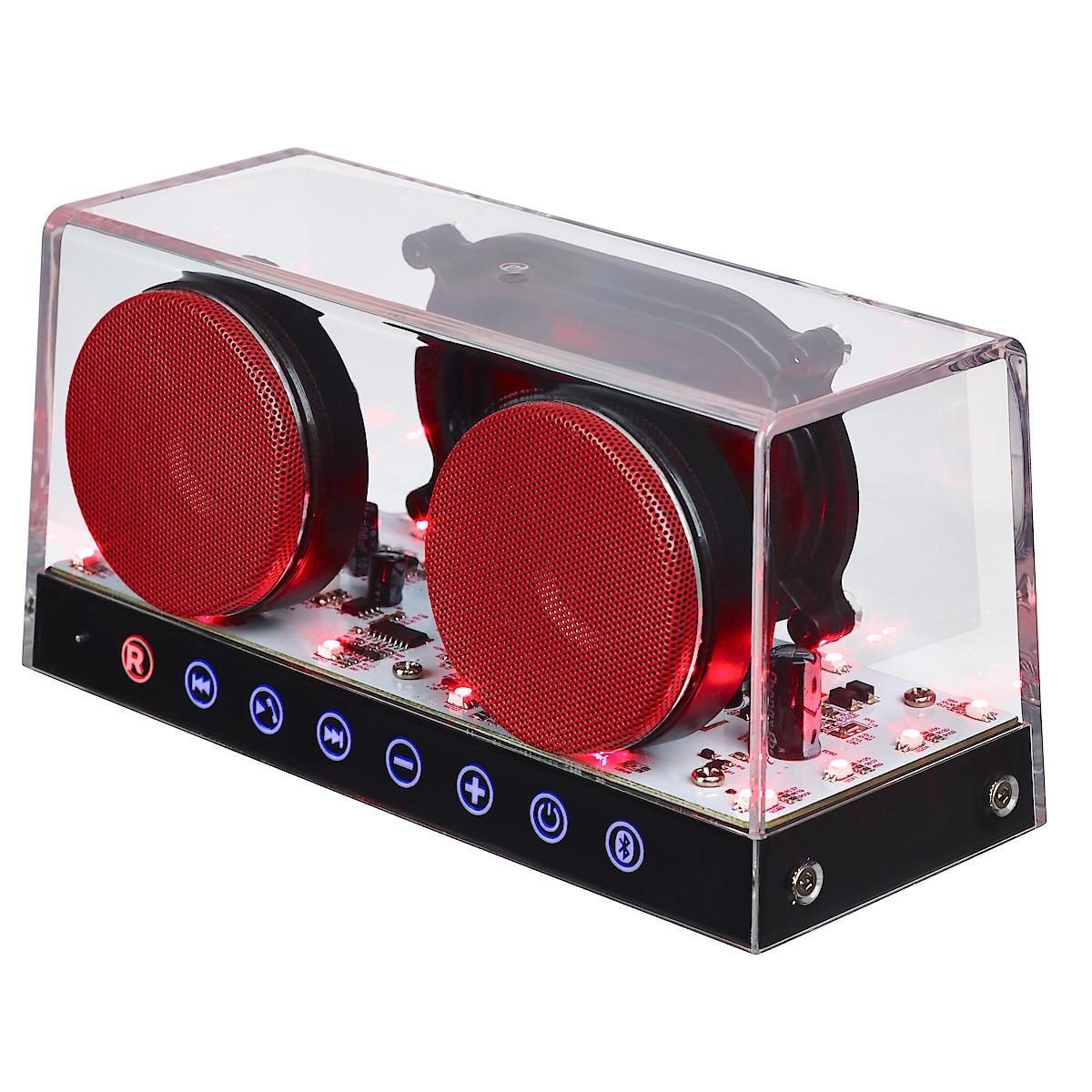 Mini-Speaker with LED Effect Lighting