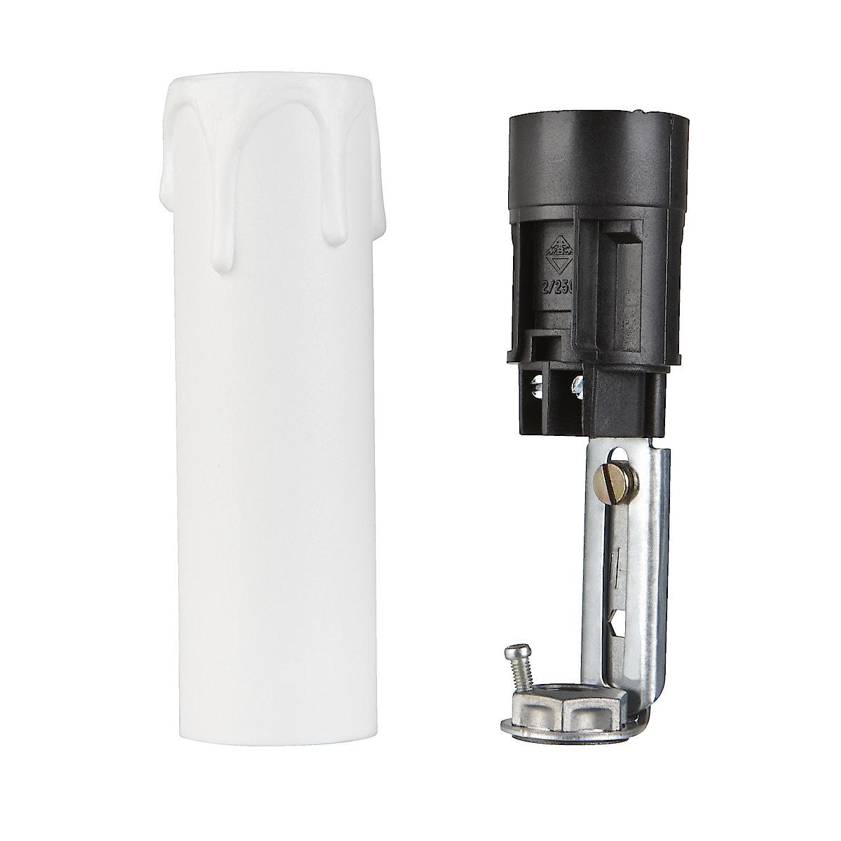 Lamphållare med ljusimitationshylsa