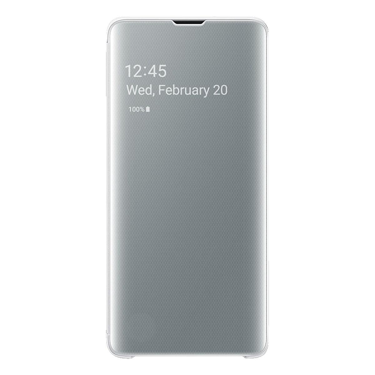 Flipfodral för Samsung Galaxy S10 Samsung Clear View