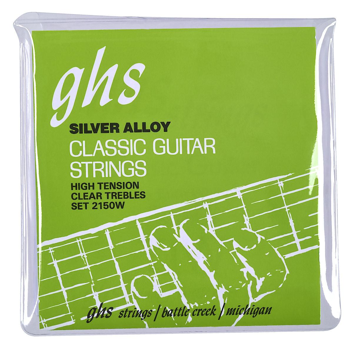 Gitarrsträngar GHS nylon
