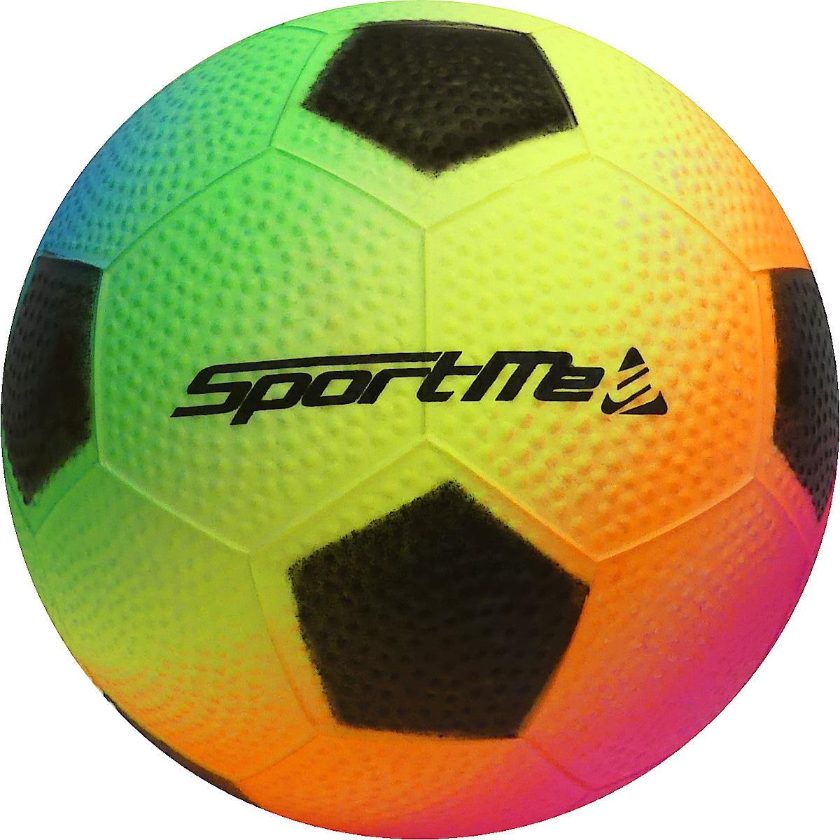 Fotball regnbuefarget