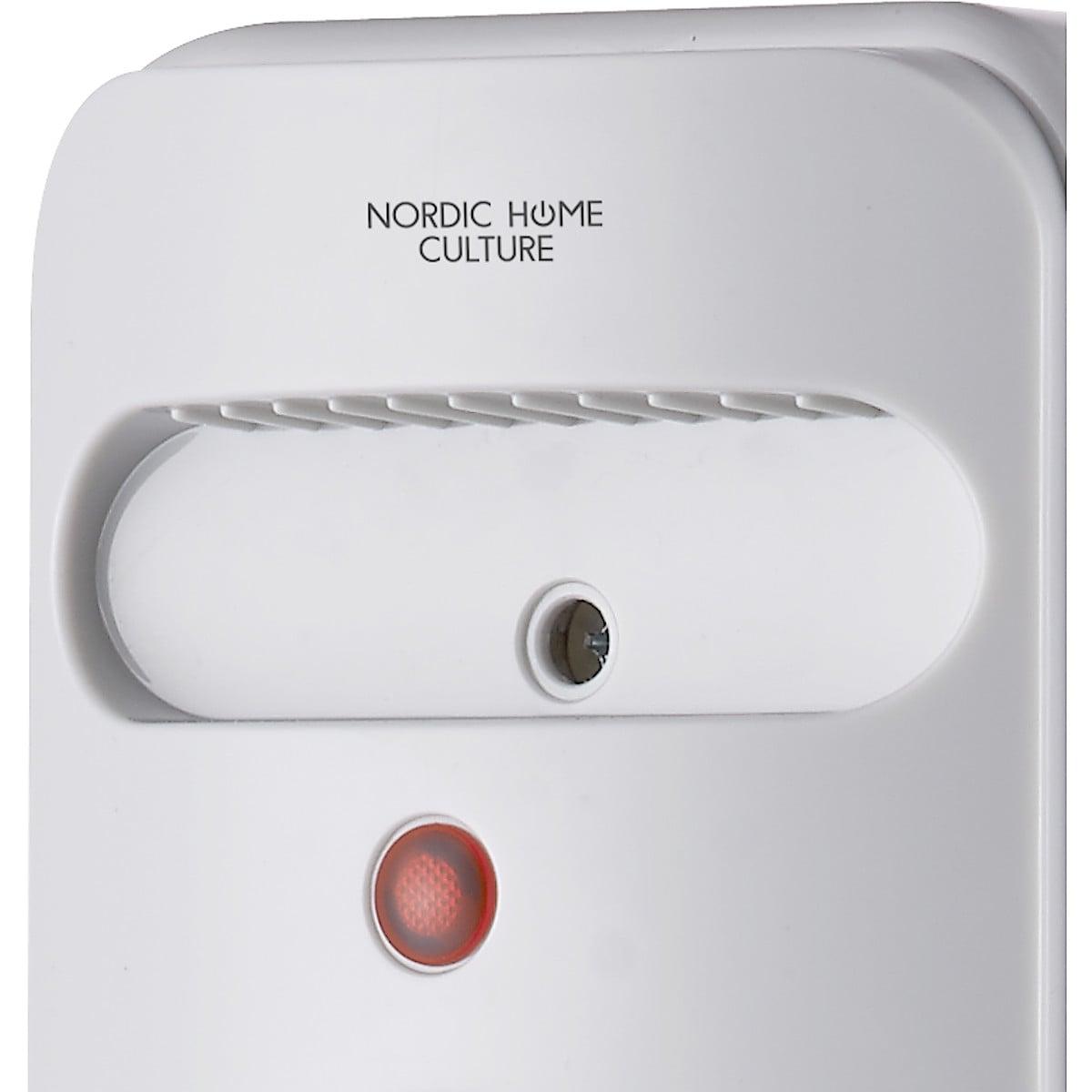 Nordic Home Culture HTR-511 oljefylt ovn på hjul