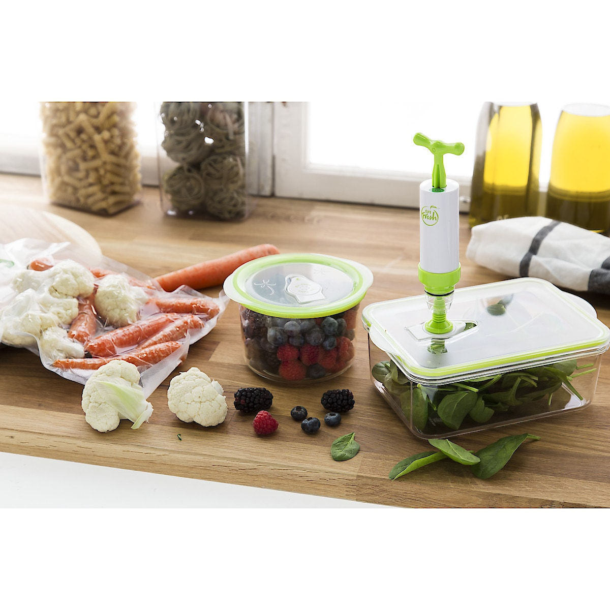 Vakuumierer Stay Fresh Vacuum Sealer Kit