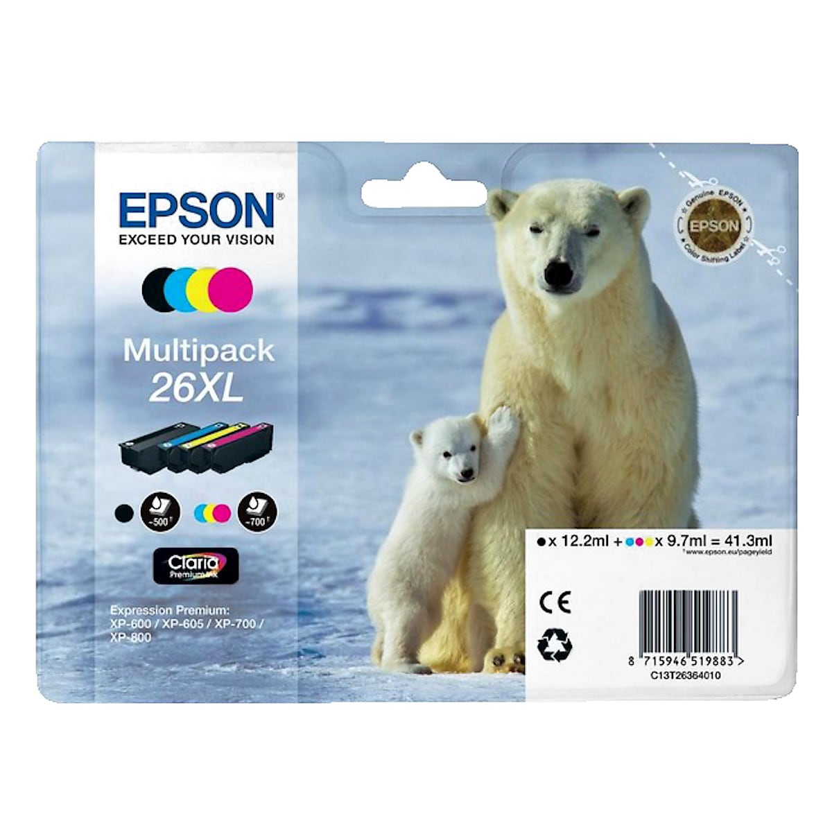 Bläckpatron Epson T026 26XL