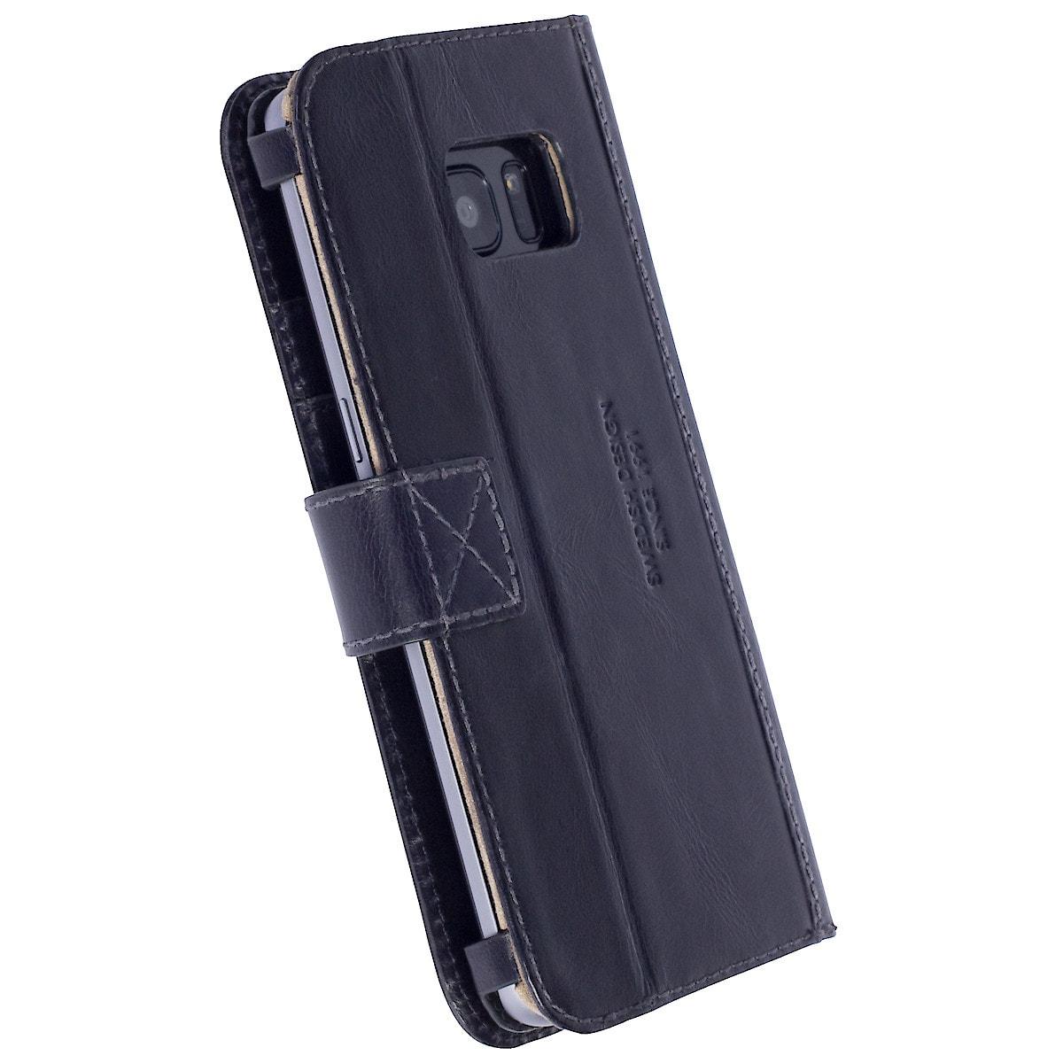 Taschenportemonnaie für Samsung Galaxy S7 Edge, Krusell Sigtuna FolioWallet