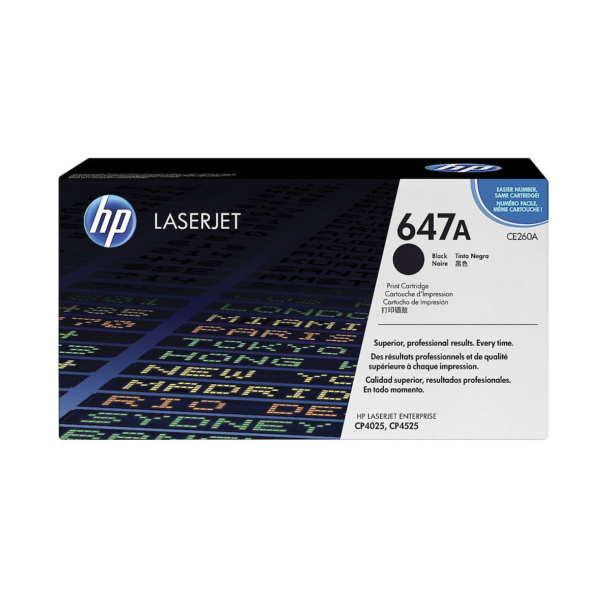 Toner for laserskrivere HP CE260A