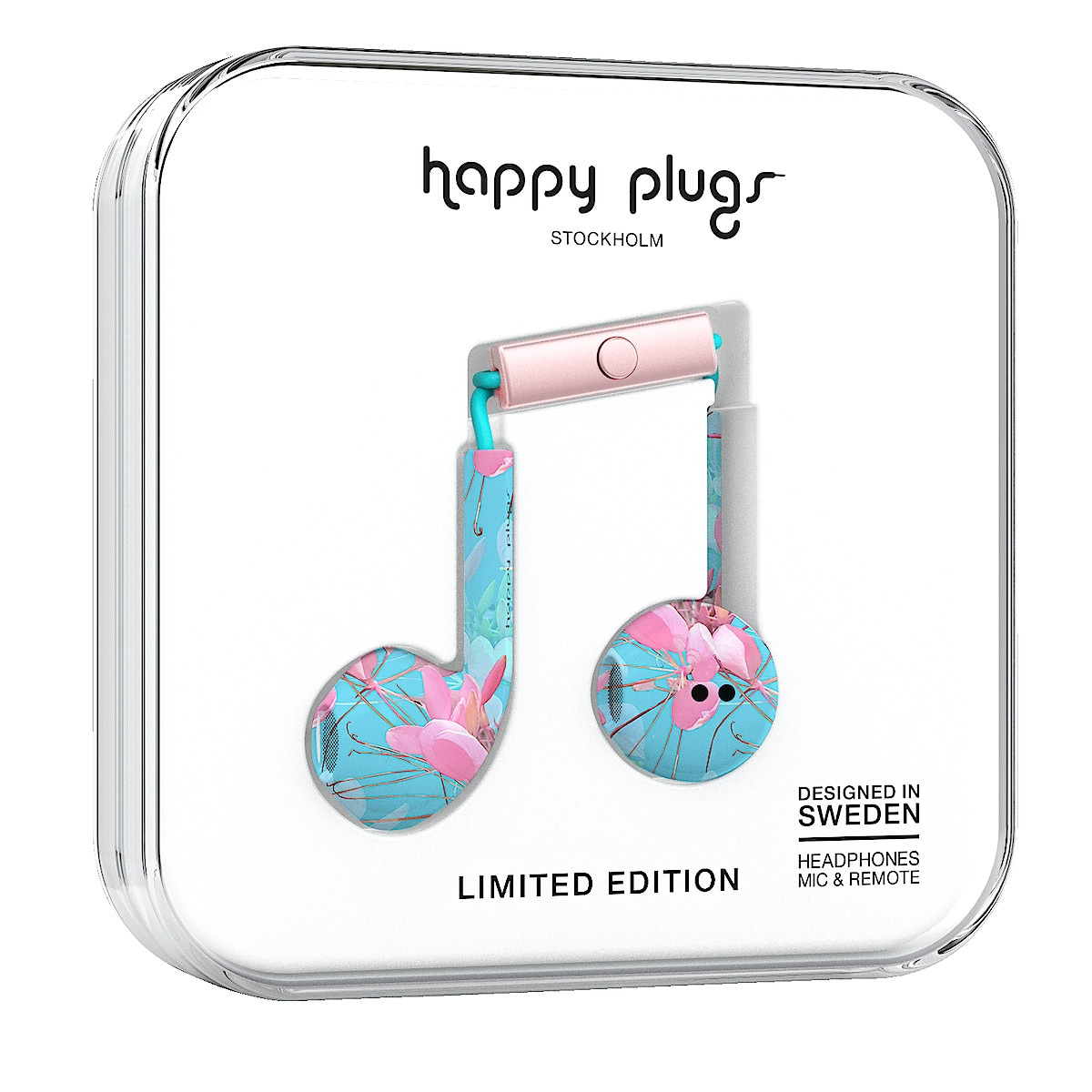 Mikrofonikuulokkeet Happy Plugs Plus Earbud