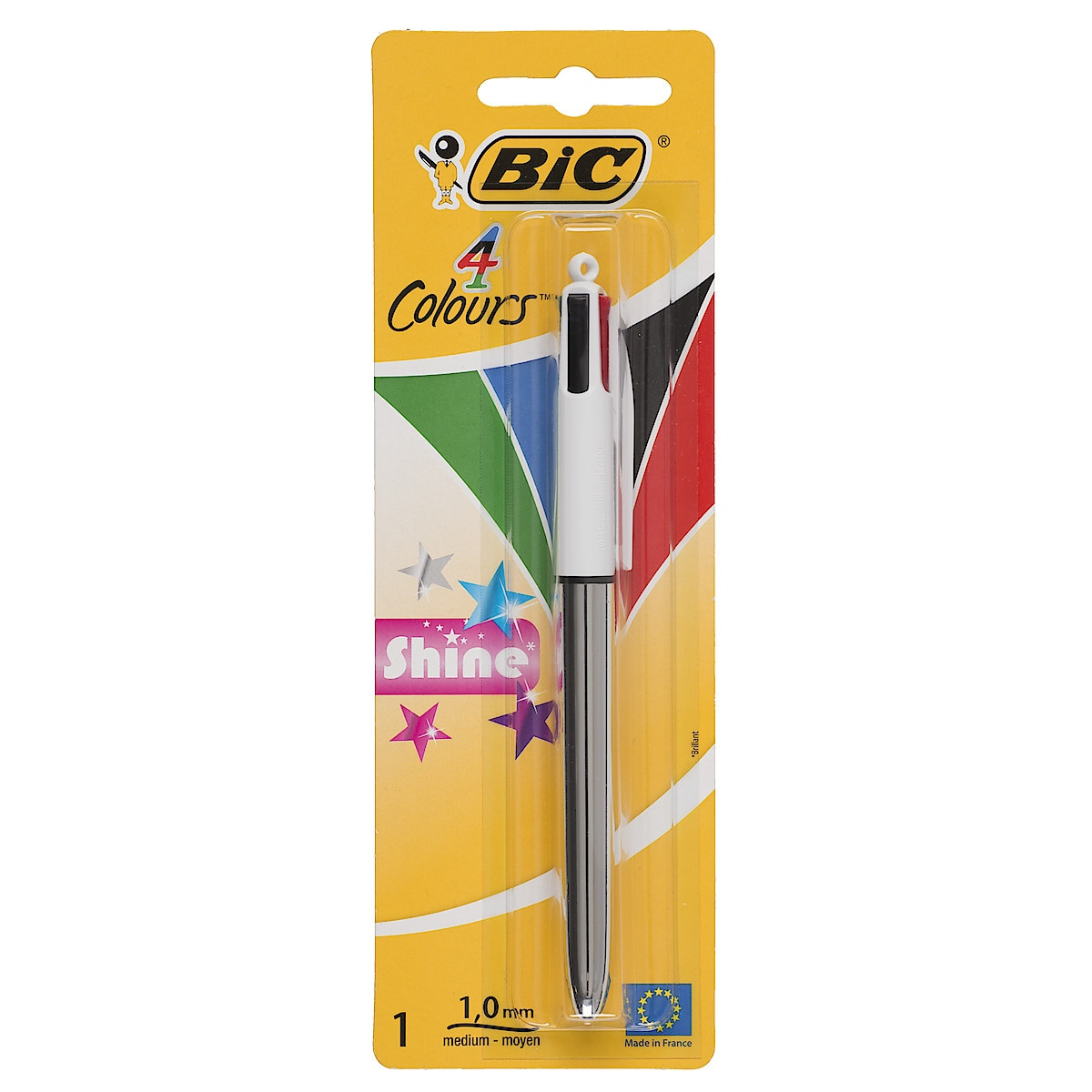 Kulspetspenna Bic 4 colours Shine