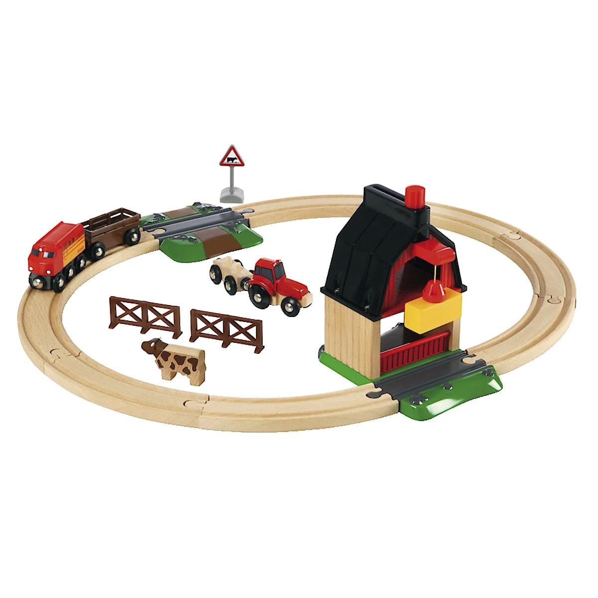 Klassisk togbane, Brio bondegård
