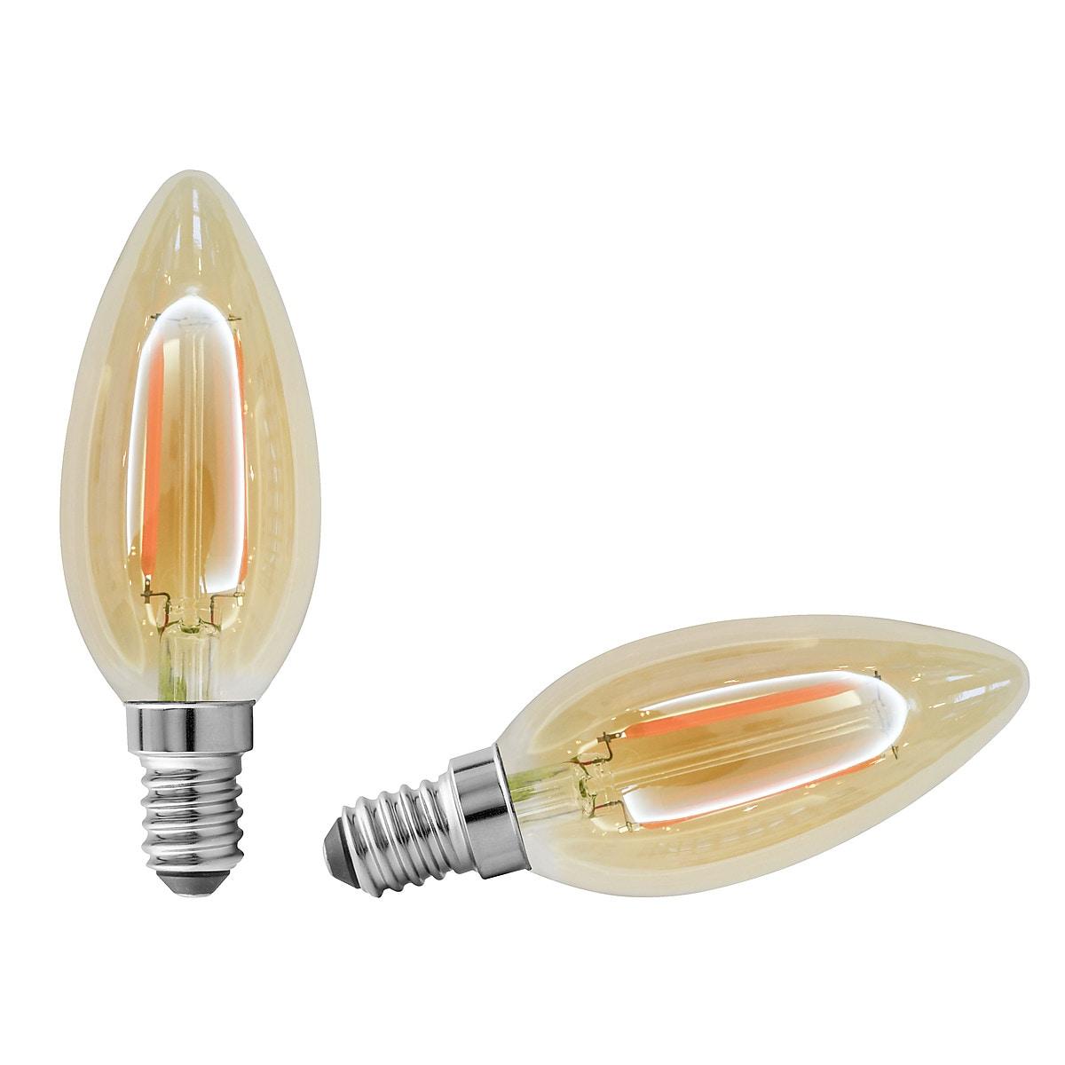 Northlight E14 Candle LED Filament Bulb