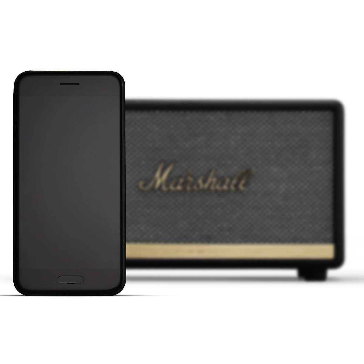 Marshall Acton II Voice Google Assistant, Bluetooth-høyttaler