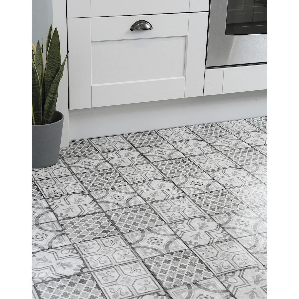 D-C-Floor, Vinyl Floor Tiles, Pack of 11