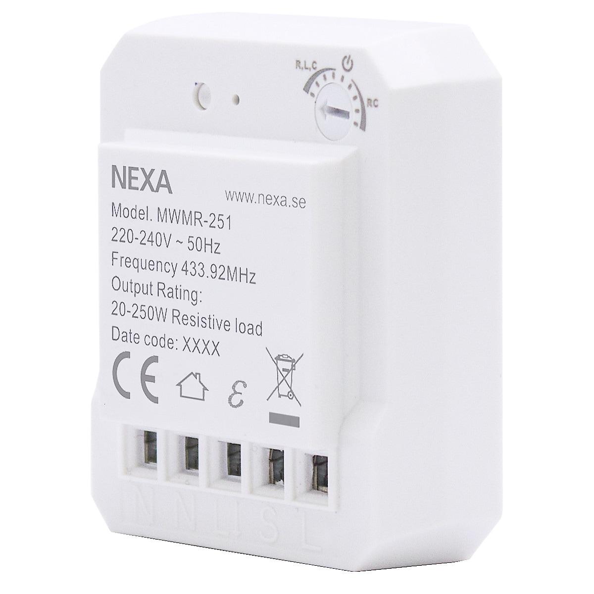 Nexa MWMR-251 Build-in Dimmer Receiver