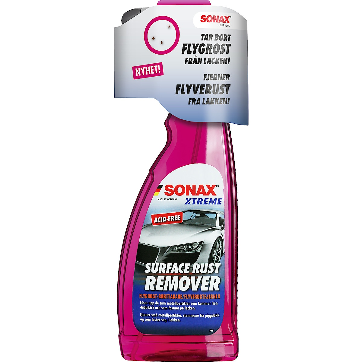 Sonax Xtreme Surface Rust Remover, 750 ml