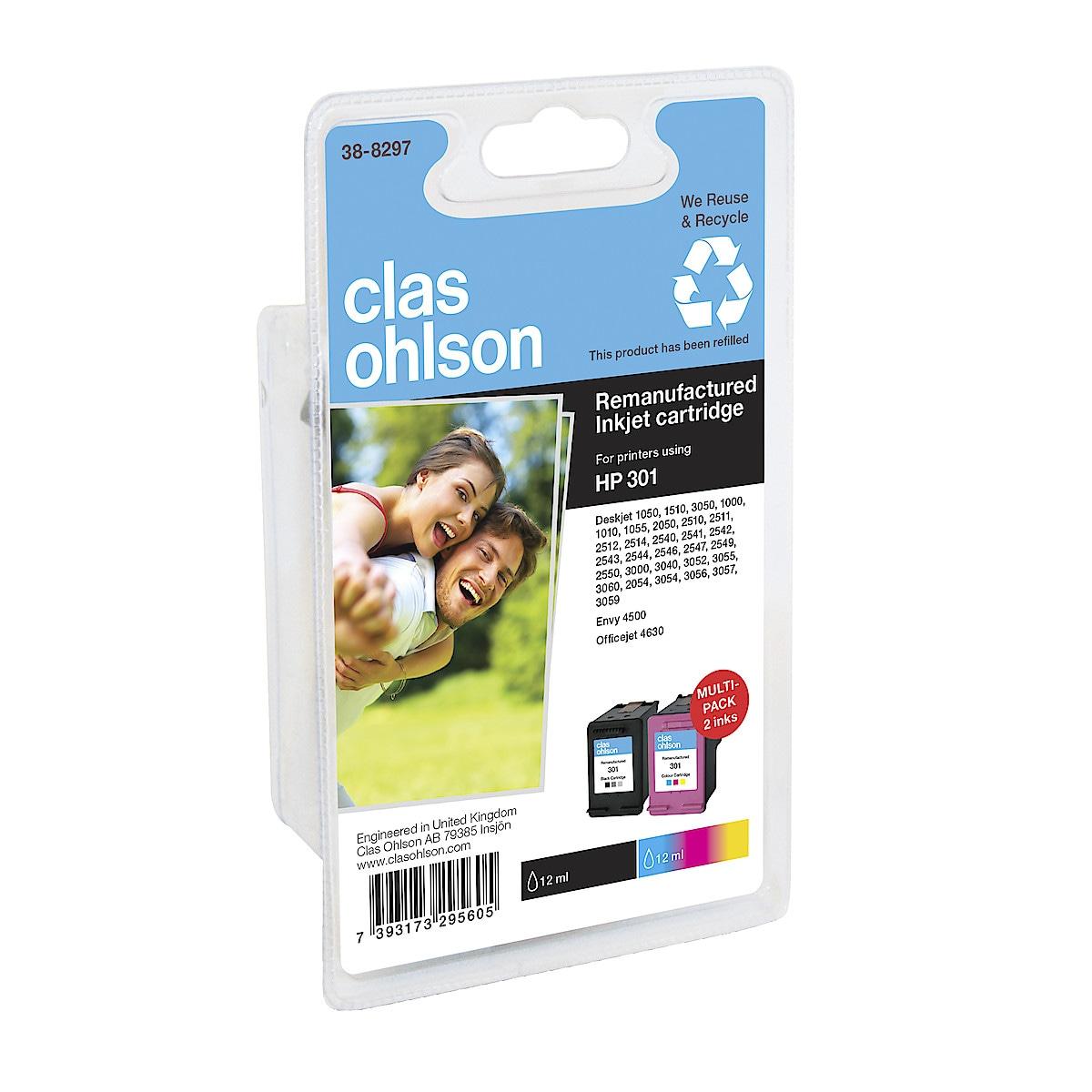 Clas Ohlson HP  301 Ink Cartridge