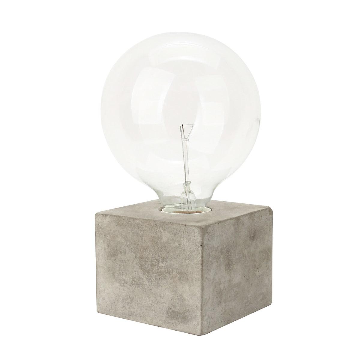 Pöytävalaisin Cube Northlight