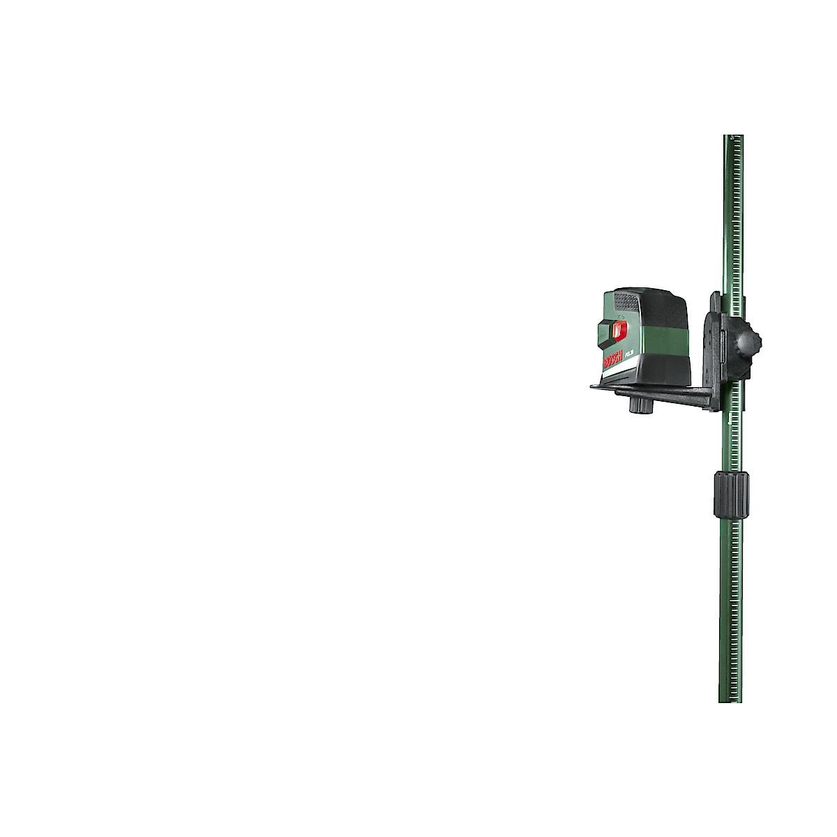 Bosch PCL20 krysslaserpass og TP320 teleskopstang
