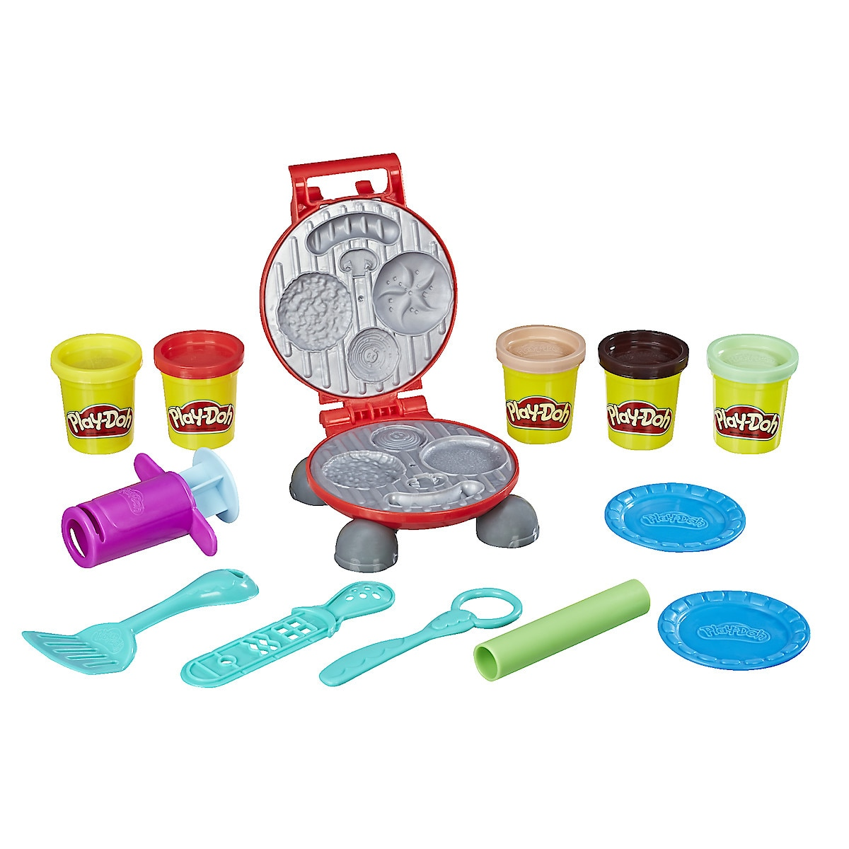 Leklera Play-Doh Burger Barbecue Set